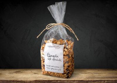 Granola med chokolade